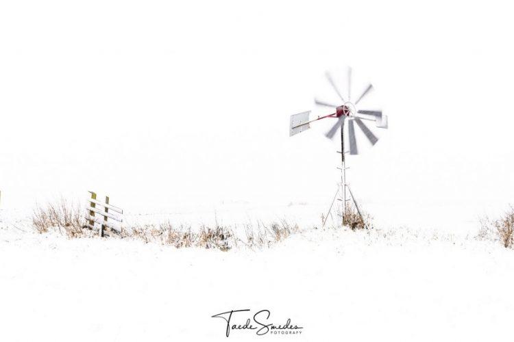 Taede Smedes fotografie, landschap, winter, molen