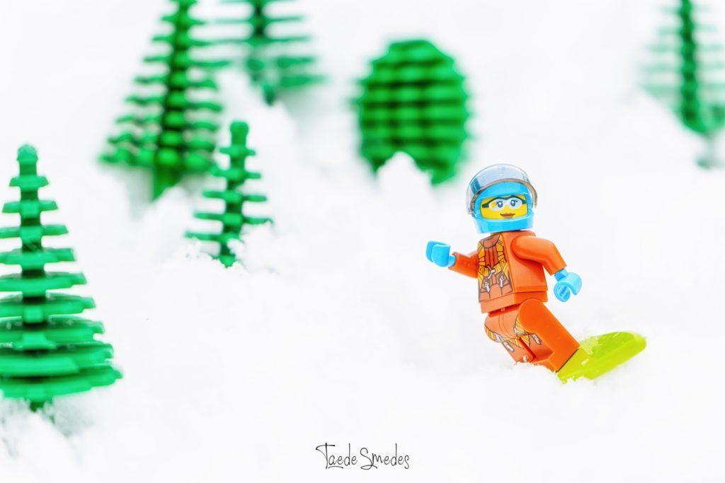 taede smedes, garyp, fatografie, macro, lego, winter, sneeuw