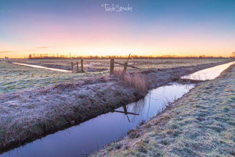 taede smedes, garijp, fotograaf friesland, sunrise, zonsopkomst, natuur,