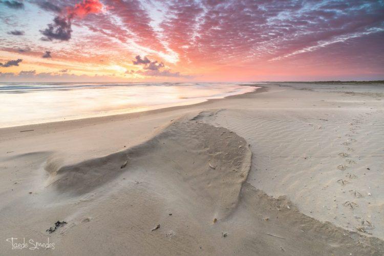 taede smedes, landschapsfotografie, stran, zee, ameland, garijp