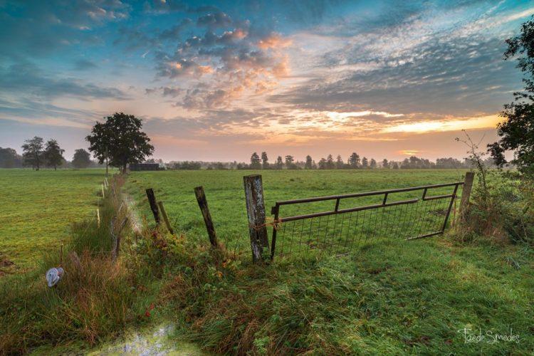 Taede Smedes, landschapsfotograaf, garyp, zonsopkomst