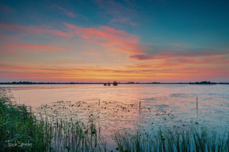 Taede Smedes Fotografie, de Leijen, landschapsfotografie, zonsopkomst, Smallingerland