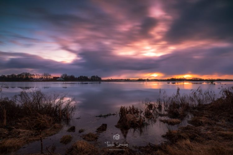 Taede Smedes Fotografie, Natuur Landschaps, AldeFeanen, Zonsopkomst, Friesland
