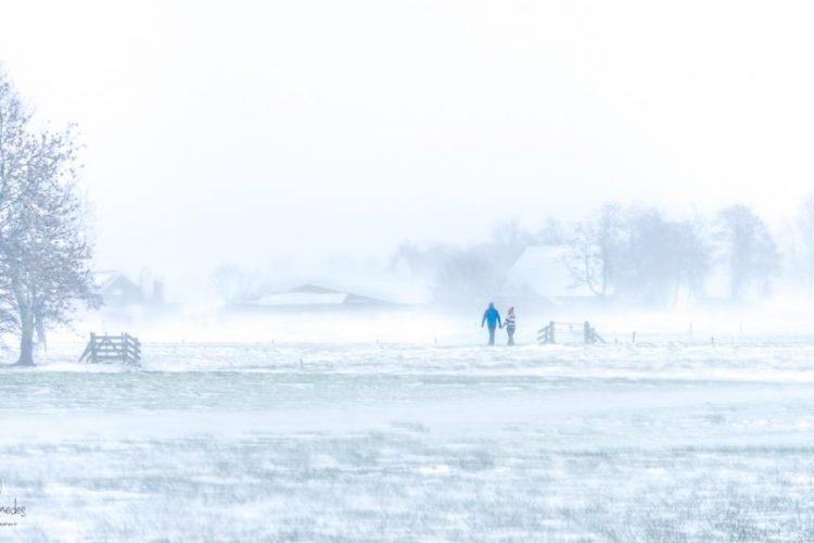 Taede Smedes, Landschapsfotograag friesland, winter, sneeuw