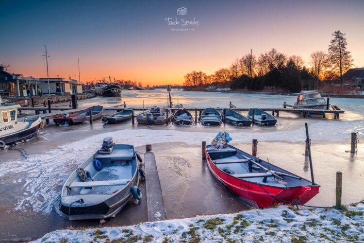 Taede Smedes Fotografie, Winter, Ijs, Eernewoude, Friesland